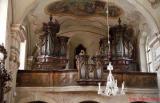 Varhany v kostele Svatého Jiljí